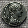 A tetradrachm (Ancient Greek silver coin) portraying Ptolemy V