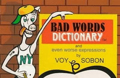 Parrot Time - Book Look - Bad Words Dictionary