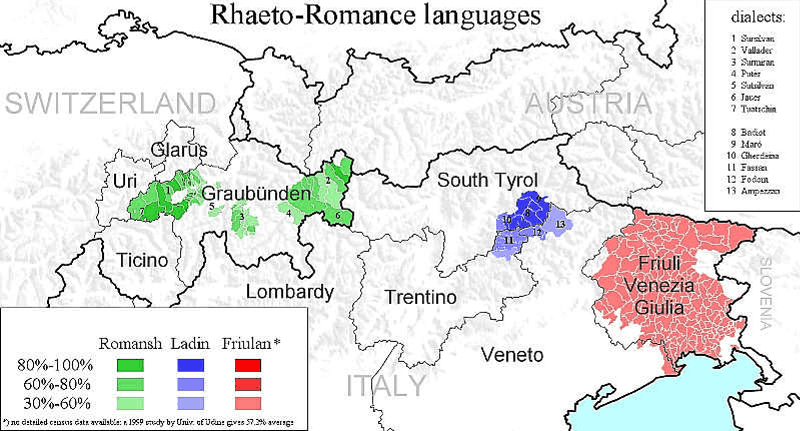 Rhaeto-Romance region